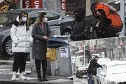 Başkentte kar sürprizi Sabah saatlerinde etkili oldu