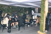 İstanbulda büyük rezalet Çekim bahanesiye parti yaptılar