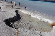 Salda Gölünde doğa kendini yeniledi, çamur çukurları kapanmaya başladı