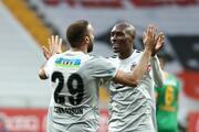 Beşiktaş - Alanyaspor maçından öne çıkan fotoğraflar