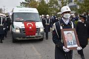 Şehit Uzman Çavuş Erkan Erdem, son yolculuğuna uğurlandı