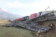 Adananın Pozantı ilçesinde 2 yük treni çarpıştı