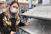 Trabzonda vatandaşlardan kömür tozu tepkisi