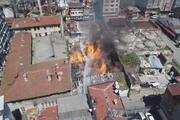 Fatihte Kaçakçılık Şube Müdürlüğüne ait depoda yangın