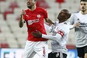 Sivasspor - Beşiktaş maçında öne çıkan fotoğraflar