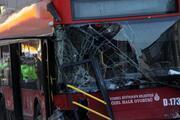 Beşiktaşta çift katlı İETT otobüsü kaza yaptı: 1 ölü, 1 yaralı