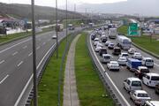 TEMin Bolu geçişinde tam kapanma öncesi trafik durdu