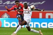Lille - Nice maçından öne çıkan fotoğraflar
