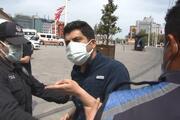 İkamet kartı bulunan İranlıya polisten tepki