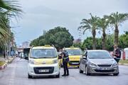 Antalyada tam kapanma denetimi Kilometrelerce araç kuyruğu oluştu