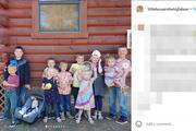 Tam 11 çocuğu var... Evlendiğinden beri her yıl hamile