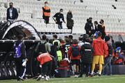 Beşiktaş Karagümrük koridor kavgasından fotoğraflar