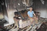 Karamanda 2 aile bayramda evsiz kaldı