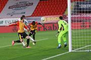 Göztepe-Beşiktaş maçından en özel fotoğraflar