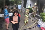 Şişlide yangın paniği