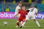 Türkiye-İtalya maçından en özel fotoğraflar