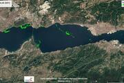 Son dakika... Bu harita Türkiyede ilk Tablo çok vahim... İşte Müsilajın (deniz salyası) yoğunluğu...