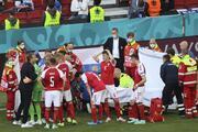 Danimarka - Finlandiya maçında Christian Eriksen fenalaştı