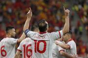 Avusturya - Kuzey Makedonya maçından öne çıkan fotoğraflar