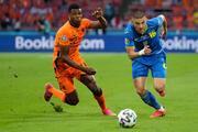 Hollanda - Ukrayna maçından öne çıkan fotoğraflar