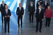 Son dakika haberi... Kritik NATO zirvesi başladı: Dünya liderleri NATO karargahına girerken görüntülendi