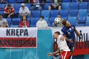 Polonya - Slovakya maçından öne çıkan fotoğraflar