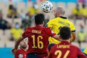 İspanya - İsveç maçından öne çıkan fotoğraflar