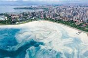 Caddebostanda deniz salyası yeniden arttı