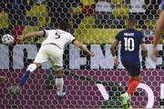 Fransa - Almanya maçından öne çıkan fotoğraflar