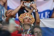 EURO 2020de Finlandiya - Rusya maçından fotoğraflar