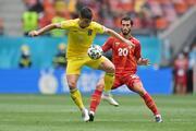 Ukrayna - Kuzey Makedonya maçından fotoğraflar (EURO 2020)