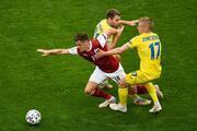 Ukrayna - Avusturya maçından öne çıkan fotoğraflar