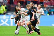 Kuzey Makedonya - Hollanda maçından öne çıkan fotoğraflar