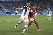 Finlandiya - Belçika maçından öne çıkan fotoğraflar