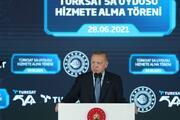 Türksat 5A hizmete alındı Cumhurbaşkanı Erdoğan önemli açıklamalarda bulundu