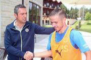 Fenerbahçe Başkanı Ali Koç, Topuk Yaylasındaki kampı ziyaret etti