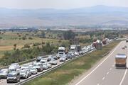 Anadolu Otoyolunda trafik yoğunluğu