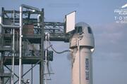 Kapsül dünyaya indi... Jeff Bezosun uzay yolculuğu başarıyla tamamlandı