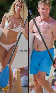 39 yaş genç sevgiliyle tatilde