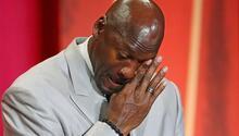 7.2 milyon dolar bağışta bulunan Michael Jordanın gözyaşları