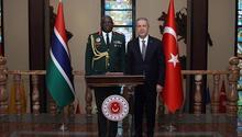 Bakan Akar, Gambiya Genelkurmay Başkanını kabul etti