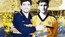 Maradonanın son takım arkadaşı da emekli oldu