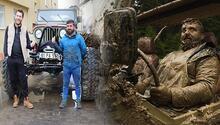 Trabzonlu gençler kendi arazi araçlarını yaptılar Dere, tepe, orman geziyorlar…