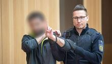 Almanya'da 5 PKK'lı hâkim karşısında