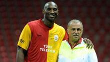 Galatasaray ve Kobe Bryant... Türk Telekom Stadyumunda o anlar