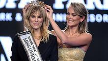 35 yaşında Almanya'nın en güzeli seçildi