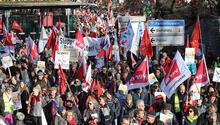 Erfurt'ta AfD karşıtı gösteri