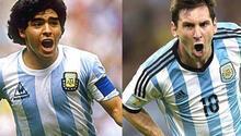 Maradona: Messi benim yaşadığım hayatı yaşamadı