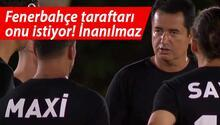 Survivor futbol maçına damga vurdu, Fenerbahçeliler çıldırdı Acun Ilıcalıya...