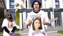 Kızı için bu kez başbakanlık önünde eylem yaptı